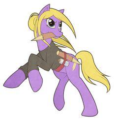 Buffy the Pony Vampire Slayer