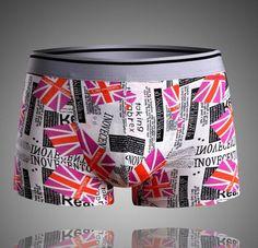 Mens New Gift Hot Trunks Crosshatch Designer Underwear Boxer Shorts Boxers