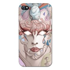 Pandoras Mask - Sam Werczler - Customic - Case - Capinha, Capinha, Capa par iPhone, Capinha de Celular, Capa para Celular, Capinha para Celular, Case para Celular, Case iPhone.