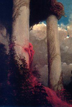 Detail of a Beksinski piece