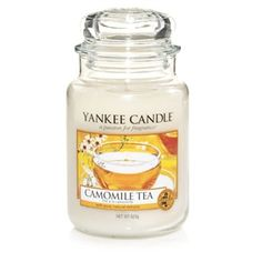 Camomile Tea produces the aroma of camomile and honey to help you relax into the darker evenings