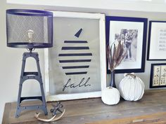 Bring on the fall decor! Who else started to decorate this weekend? So much goodness happening around here. I've almost burned through an entire apple spice candle and I have pumpkins EVERYWHERE. They are taking over and I love it. I've teamed up with ScotchBlue to bring you my next fall project. I repurposed and...