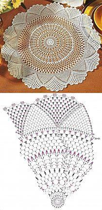 Kira scheme crochet: Scheme crochet no. Crochet Doily Diagram, Crochet Doily Patterns, Crochet Mandala, Crochet Chart, Thread Crochet, Filet Crochet, Crochet Motif, Irish Crochet, Crochet Doilies