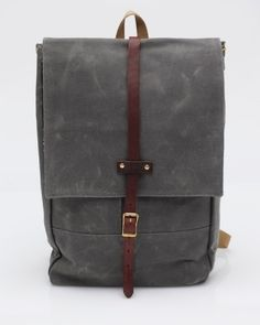 Rucksack In Gray    Archival Clothing