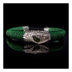 Wimbi Silver with Tsavorite Make Your Own, How To Make, Wedding Rings, Engagement Rings, Bracelets, Silver, Jewelry, Enagement Rings, Jewlery