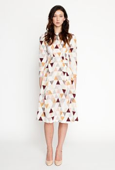 triangle dress by Secret Squirrel