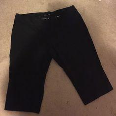 Maurice's Plus Size 24 Capris Black Maurice's capris. Good condition. Maurices Pants Capris