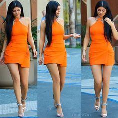 """Kylie Jenner on Instagram: """"This Look - Dress : #KaufmanFranco Sandals : #Givenchy"""""""