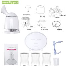 2in1 Ionic Facial Steamer And Fruit Mask Machine Multifunction DIY Natural Fruit Vegetable Mask Maker Hot Mist Moisturizing Personal Skin Care Beauty Tool Machine with Collagen * Be sure to check out this awesome product. (This is an affiliate link and I receive a commission for the sales) #hashtag