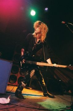 GnR Duff McKagan, bass guitar and backing vocals