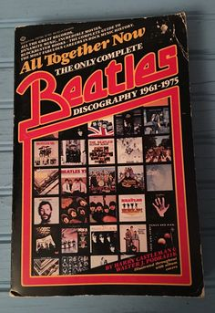 Beatles Albums, Beatles Books, The Beatles, Venus And Mars, Vintage Bookshelf, Movie Guide, Star Show, Rock Music, The One
