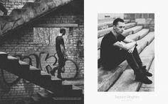 Фотосессия на улице мужская черно-белое пермь фотограф мужчины dj фото