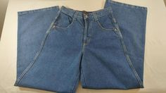 Solo Semore Jeans 100% Cotton Size 28 Made in USA Baggy New With Tags Denim #SoloSemore #NA