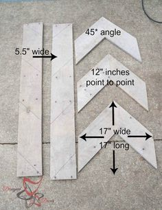 Wood Pallet Projects DIY repurposed wood arrows - Save money by making your own home decor repurposed pallet wood projects like repurposed pallet wood arrows, clocks, and lights. by DeDe Bailey Woodworking Projects Diy, Diy Wood Projects, Teds Woodworking, Woodworking Furniture, Popular Woodworking, Repurposed Wood Projects, Woodworking Joints, Woodworking Techniques, Woodworking Classes