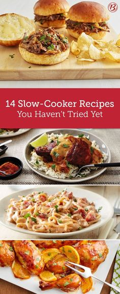 So long, dinner rut! These slow-cooker recipes bring fresh flavors to the table. From a cheesy spaghetti that is the definition of comfort food to a four-ingredient rotisserie-style chicken that's cooked to perfect with literally no effort, you've never t