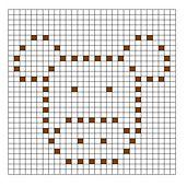 Ravelry: Cow Bobble Chart pattern by Kari Philpott