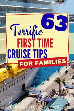 The amount of information available for first time cruisers can be overwhelming. But this list can help guide you through the maze. We've put together this list of first time cruise tips specifically Disney Cruise Tips, Packing For A Cruise, Cruise Travel, Cruise Vacation, Vacations, Carnival Cruise Tips, Packing Tips, Travel With Kids, Family Travel