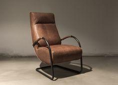 Lederen fauteuil Howard leuke stoel