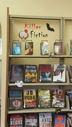 More click [.] Book Display Ideas Halloween Middle School Libraries Middle School Classroom Library Boards Library Ideas Poster Maker My Modern Met 14 Best Library Book Displaysadult Images Library Book Displays Middle School Libraries, Middle School Classroom, Book Display Stand, Display Ideas, Library Boards, Library Ideas, Hoot Book, Graham, Chelsea