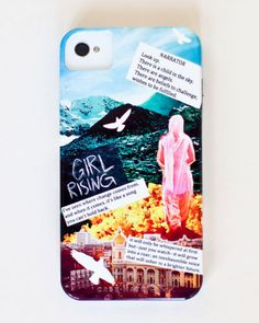 Campaign iPhone Case. Shop the Girl Rising store: shop.girlrising.com