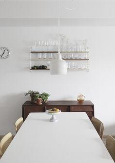 White 70/70 table by Muuto via Da Daa.