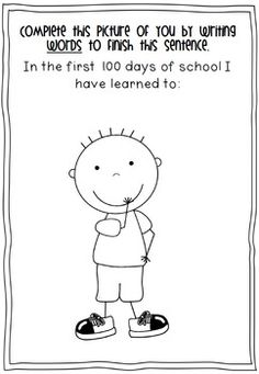 Day of School Worksheets - 100 Days of School This 40 page file isfull of worksheets for the day of school celebrations will be ideal for grades Make booklets for your students to work on leading up to the day of school. The First 100 Days, 100 Days Of School, School Holidays, School Stuff, 100s Day, 100 Day Celebration, Classroom Projects, Preschool Projects, School Worksheets