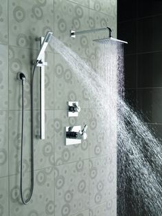 Many way to include my existing shower head create a little more luxury  final View the Hansgrohe 27164 Raindance Connect Shower Kit with 10