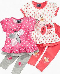 Baby Girl Clothes at Macy's come in a variety of styles and sizes. Shop Baby Girl Clothing at Macy's and find newborn girl clothes, toddler girl clothes, baby dresses and more. Baby Outfits, Newborn Girl Outfits, Kids Outfits, Toddler Girl Outfits, My Baby Girl, Baby Girls, Baby Girl Dress Patterns, Baby Suit, Cute Baby Clothes