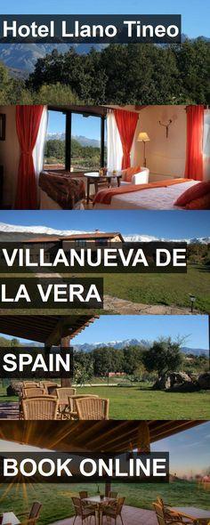 Hotel Llano Tineo in Villanueva de la Vera, Spain. For more information, photos, reviews and best prices please follow the link. #Spain #VillanuevadelaVera #travel #vacation #hotel