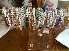 Little Words Project bracelets available in stores. Letter Bead Bracelets, Pony Bead Bracelets, Homemade Bracelets, Kandi Bracelets, Making Bracelets With Beads, Beaded Braclets, Friendship Bracelets With Beads, Trendy Bracelets, Letter Beads
