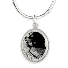 "Southern Gothic Stone Angel Necklace! from ""Jenn's Impressions"" at: http://www.cafepress.com/omnidesignsbyjonbingram"
