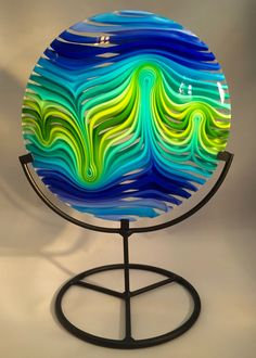 JLS Glass Studio creates unique fused glass artwork suitable for display and use in your home.