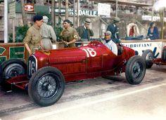 1934 Monaco (Louis Chiron) Alfa Romeo Tipo-B P3