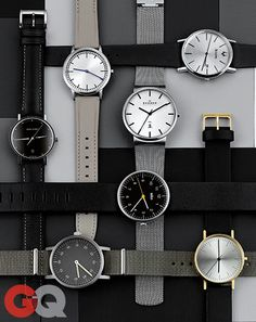GQ ranks our steel mesh Ancher Watch in their 7 minimalist watches to buy right now.