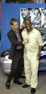 Paul and Tyrese at 2F2F Premiere in Berlin, 10th June 2003