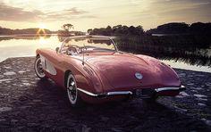 VRED, Corvette C1   CGI, Photography, Retouching on Behance