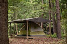 Image result for tent platform