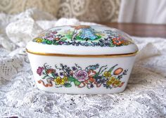 Vintage Music Box Courting Couple by cynthiasattic on Etsy, $25.00
