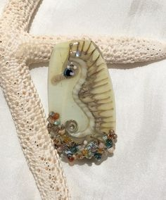 ValVaanaLampwork Handmade Glass Lampwork Bead Seahorse for Pendant Wire Wrapping Original One of a Kind by ValVaaniaLampwork on Etsy https://www.etsy.com/listing/236907697/valvaanalampwork-handmade-glass-lampwork