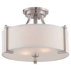 Have to have it. Designers Fountain Axel 86211 Semi-Flush Light - $199.5 @hayneedle