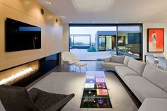 Modern Rooms Thoughtfully Designed with the TV in Mind - Design Milk