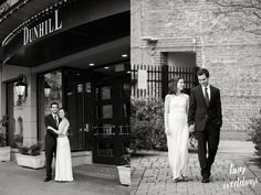 Small intimate Dunhill Hotel wedding Uptown Charlotte with photos by Tiny Weddings