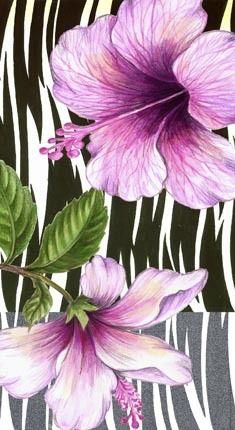 Medium                                                                                                                                                                                 Mais Hibiscus Plant, Hibiscus Flowers, Tropical Flowers, Acrylic Flowers, Acrylic Art, Watercolor Flowers Tutorial, Watercolor Paintings, Flower Images, Flower Art