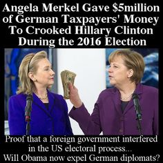 Foreign Government Bought Influence in US Election