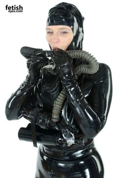 from the files of the fetish and bondage artist Osvaldo A. Rubber Catsuit, Latex Hood, Latex Lady, Scuba Girl, Heavy Rubber, Skin Tight, Second Skin, Kinky, Beauty Women