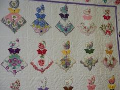 Handkerchief Quilt at the Fair - Sunbonnet Sue style