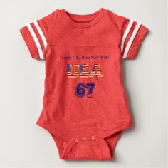 Baby Boy Football Jersey Baby Bodysuit - baby gifts child new born gift idea diy cyo special unique design