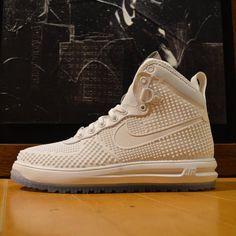 Nike Lunar Force 1 Duckboot: White