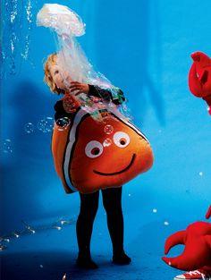 burda style, Schnittmuster für Fasching, Kinder - Clownfisch Nemo, Nr. 146 aus 01-2014