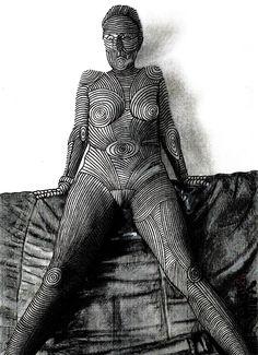 Marian Lupu LUPINO #mixt Samurai, Graphics, Black, Art, Art Background, Graphic Design, Black People, Kunst, Printmaking